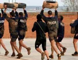 Prove fisiche carabinieri