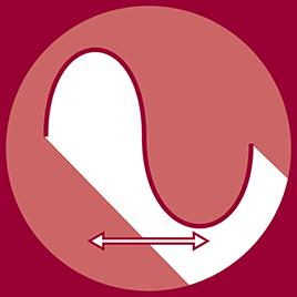 Frequenza della vibrazione: 25 niveles (25-50 Hz)