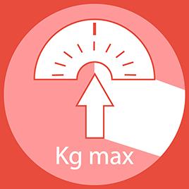 Peso massimo dell'utente: 130KG